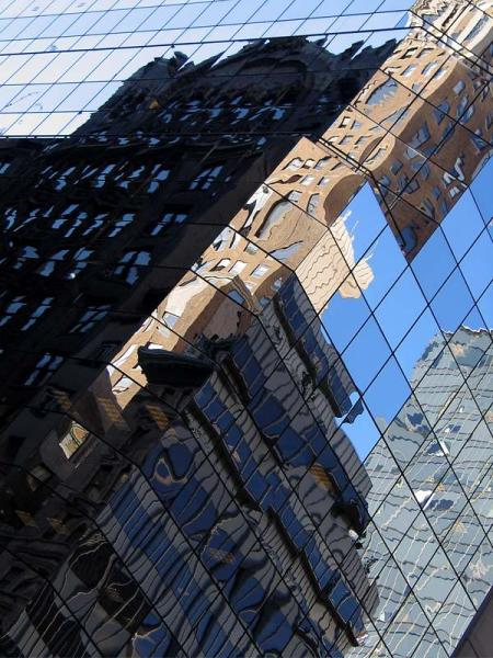 New York reflection 2. NY