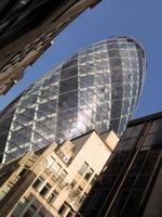 "Swiss Re Tower or ""Gherkin"". London, UK"