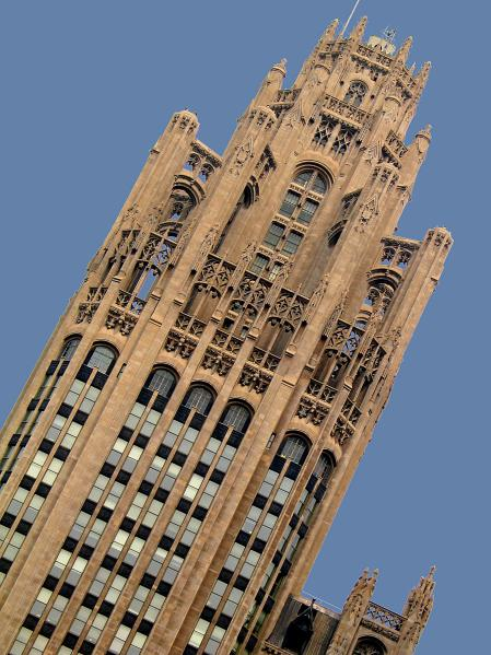 Tribune Tower. Chicago, Illinois