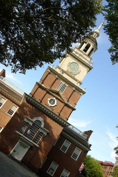 Independence Hall. Philadelphia, Pennsylvania