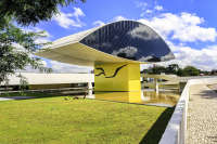 Oscar Niemeyer Art Museum (The Eye), Curitiba, Brazil