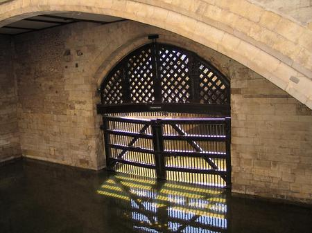 Traitors Gate. Tower of London. London, UK